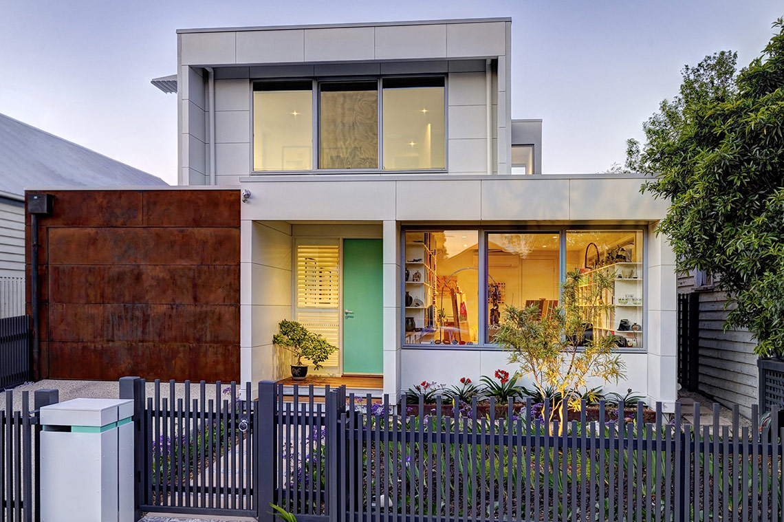 Fasham brunswick home architecturally designed homes for New home designs melbourne